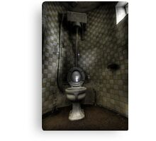 Turret Toilet Canvas Print