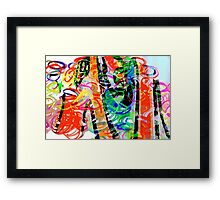 Colorful abstract 1 Framed Print