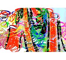 Colorful abstract 1 Photographic Print