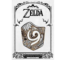Zelda legend Kokiri shield Photographic Print