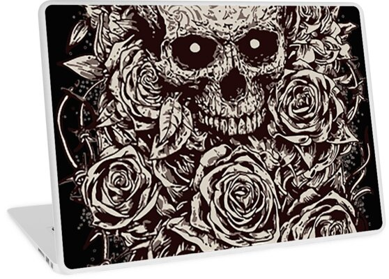 Skull & Roses iPhone Cases & Skins