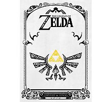 Zelda legend Hyrule Photographic Print