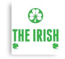 Proud Irish! Canvas Print
