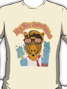 Lord help us, he's back in his pink Alf shirt T-Shirt
