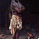 Zulu Medicine Man by Bev Pascoe