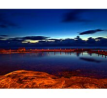 40 Seconds - Maroubra, NSW Photographic Print
