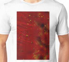 red macro Unisex T-Shirt