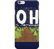 oh i remember iPhone Case/Skin