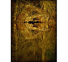River Thames Boat Shed Photographic Print
