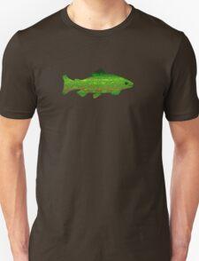 Greenish Trout Flyfishing Teeshirt T-Shirt
