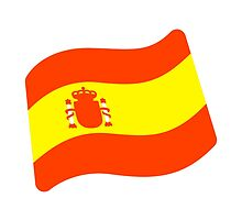 Flag For Spain Google Hangouts / Android Emoji by emoji