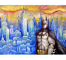 pouting bat man  Photographic Print