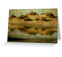 Dune tidal pool Greeting Card