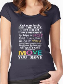Move Women's Fitted Scoop T-Shirt
