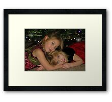 We Wish You A Merry Christmas Framed Print