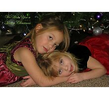 We Wish You A Merry Christmas Photographic Print