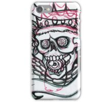 Royal tattoo style skull iPhone Case/Skin
