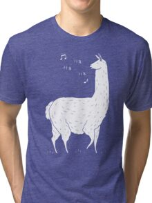 Song Of The Llama Tri-blend T-Shirt