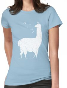 Song Of The Llama Womens Fitted T-Shirt