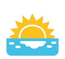 Sunrise Google Hangouts / Android Emoji by emoji