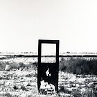 Door in field by kerplunk