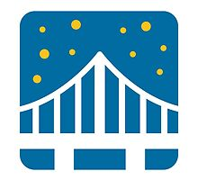 Bridge At Night Google Hangouts / Android Emoji by emoji