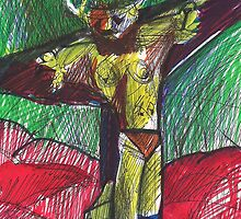 THE CRUCIFIED ONE(C1999) by Paul Romanowski