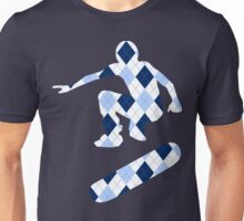 skateboard : argyle silhouettes Unisex T-Shirt