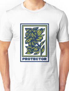 Torrella Flowers Yellow Blue Unisex T-Shirt