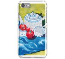 Red, White & Blue, Tea & Tomatoes for you iPhone Case/Skin