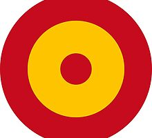 Roundel of the Spanish Air Force by abbeyz71