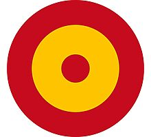 Roundel of the Spanish Air Force Photographic Print