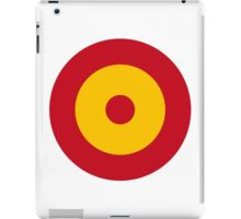 Roundel of the Spanish Air Force iPad Case/Skin