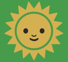 Sun With Face Google Hangouts / Android Emoji Kids Clothes
