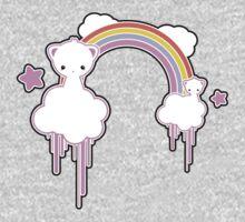 Cloud Kittens One Piece - Long Sleeve