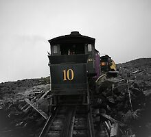 Old Train Going Down by terrebo