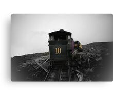 Old Train Going Down Canvas Print