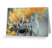 In the Shadow of Death Greeting Card