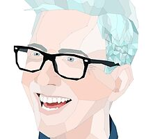 Geomtric Tyler Oakley Transparent by gaumerdesign