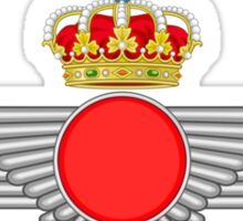 Emblem of the Spanish Air Force  Sticker