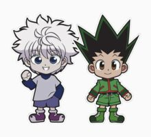 Gon and Killua by MetaaBoo