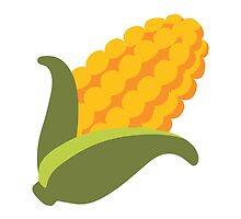 Ear Of Maize Google Hangouts / Android Emoji by emoji