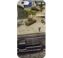Scale Model Trains, Scale Model Airplanes, Greenberg's Train and Toy Show, Edison, New Jersey  iPhone Case/Skin