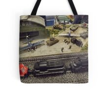 Scale Model Trains, Scale Model Airplanes, Greenberg's Train and Toy Show, Edison, New Jersey  Tote Bag