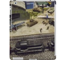 Scale Model Trains, Scale Model Airplanes, Greenberg's Train and Toy Show, Edison, New Jersey  iPad Case/Skin