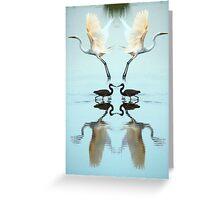 Magic Mirror Greeting Card