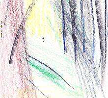 GREEN PATH TROUGH FOREST(C2015) by Paul Romanowski