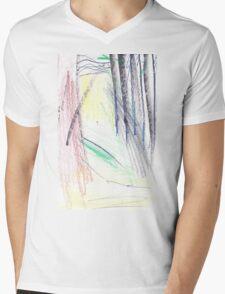 GREEN PATH TROUGH FOREST(C2015) Mens V-Neck T-Shirt