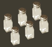 Salt Shakers by truthimprint