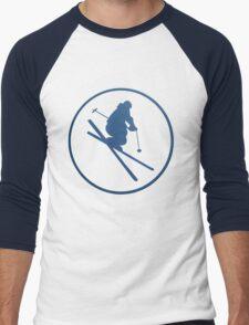 SKI framed Men's Baseball ¾ T-Shirt